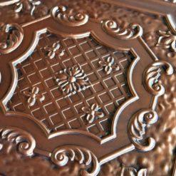 TD04 Aged Copper Faux Tin Ceiling Tile