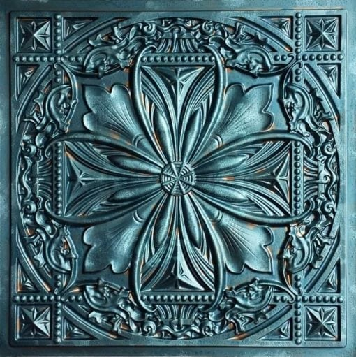 TD10 Patina Faux Tin Ceiling Tile - Talissa Signature Collection