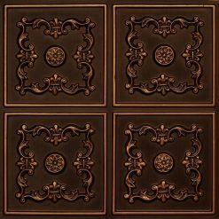 130 Antique Gold Faux Tin Ceiling Tile