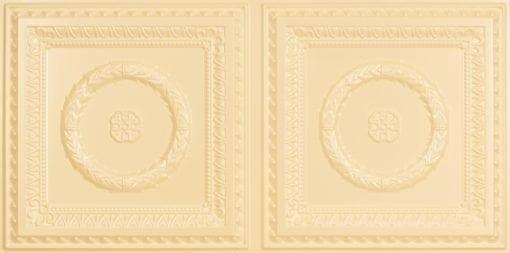 8210 Faux Tin Ceiling Tile - Cream Pearl