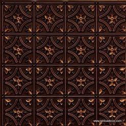 150 Antique Gold Faux Tin Ceiling Tile