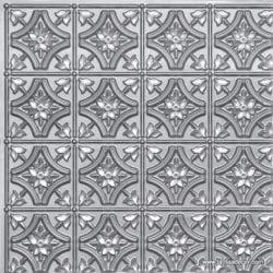 150 Silver Faux Tin Ceiling Tile
