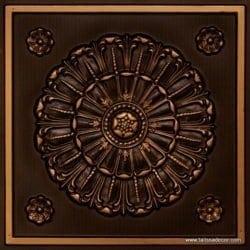 151 Antique Gold Faux Tin Ceiling Tile