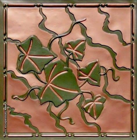 202 Patina Copper Faux Tin Ceiling Tile
