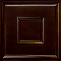 208 Antique Gold Faux Tin Ceiling Tile