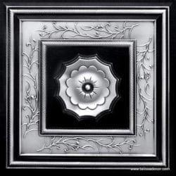 219 Antique Silver Faux Tin Ceiling Tile