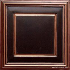 224 Antique Copper Faux Tin Ceiling Tile