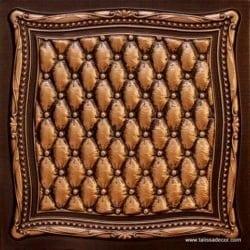 230 Antique Gold Faux Tin Ceiling Tile