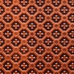 WC25  Faux Tin Backsplash Roll - Antique Copper