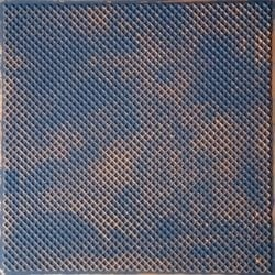 TD20 Graphite Gold Faux Tin Ceiling Tile - Talissa Signature Collection