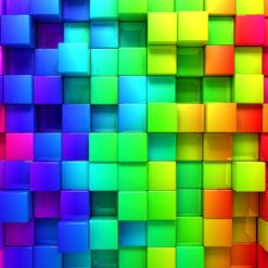 MU1348 - Rainbow Cubes