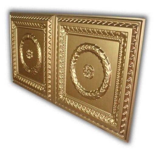 8210 Faux Tin Ceiling Tile - Gold