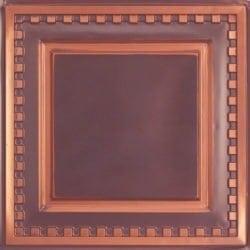 234 Faux Tin Ceiling Tile - Antique Copper