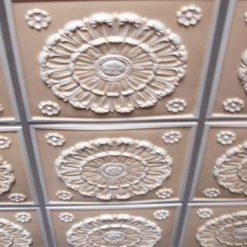 Lot of 50 tiles  - 151 Faux Tin White Matte