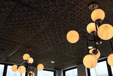 Ceiling tiles in El Paso