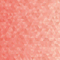 Coral-Geometric-Triangles-wall-mural