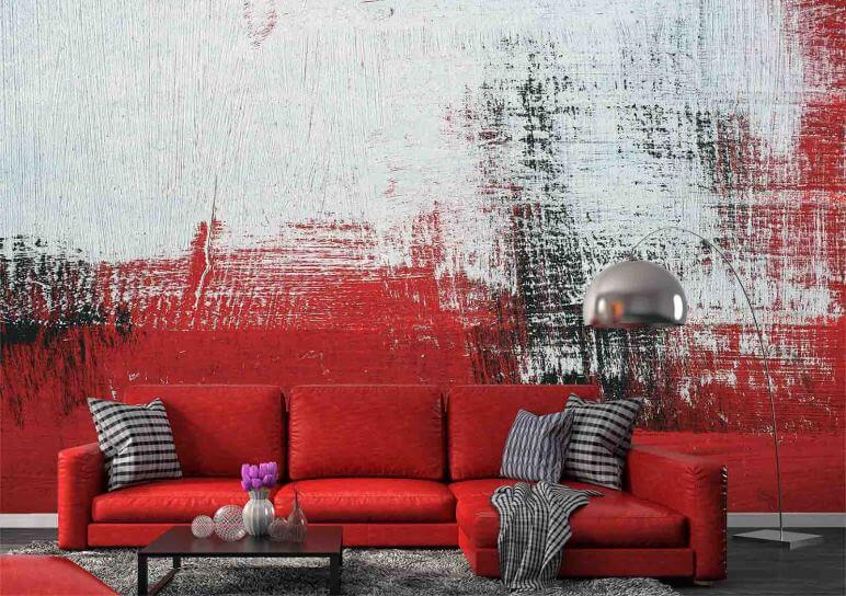 brush strokes wall murals denver