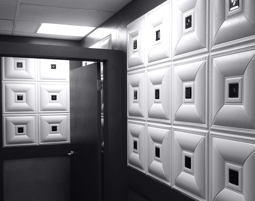 wall panels in home theatres
