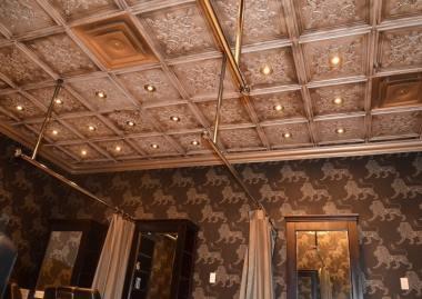 faux tin ceiling tile in Regina