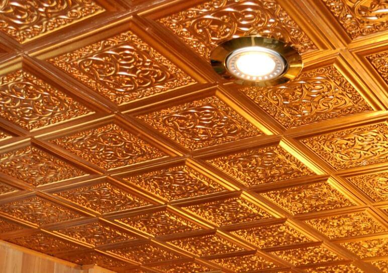 ceiling tiles for resorts