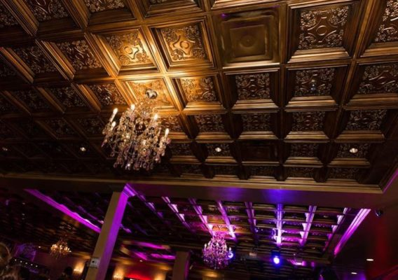 ceiling tiles for wedding venues